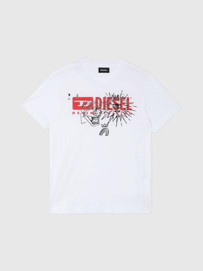 Diesel - TUDARI, Blanc - T-shirts et Hauts - Image 1