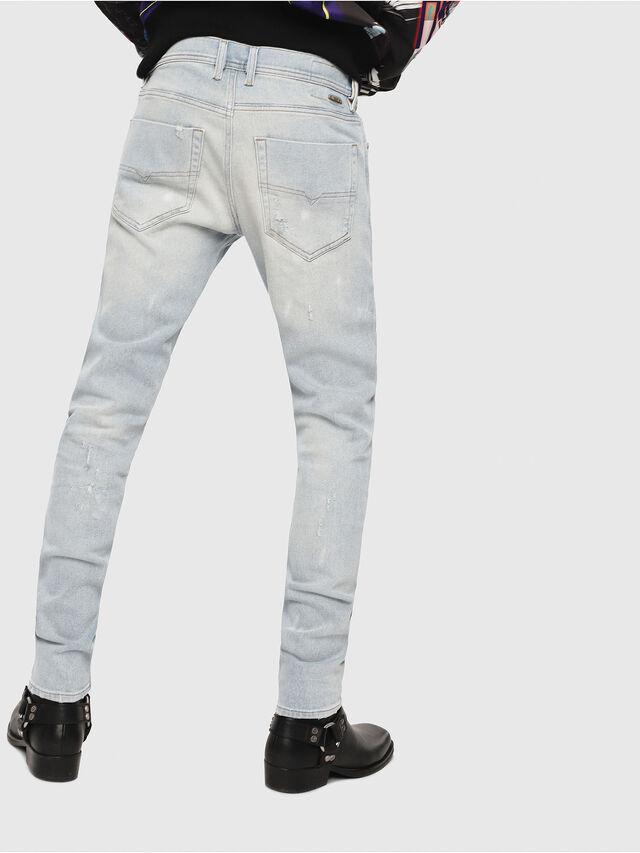 Diesel - Tepphar 081AK, Bleu Clair - Jeans - Image 2