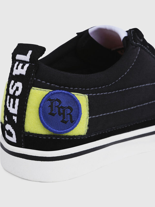 Diesel - D-VELOWS LOW PATCH W, Noir - Baskets - Image 5