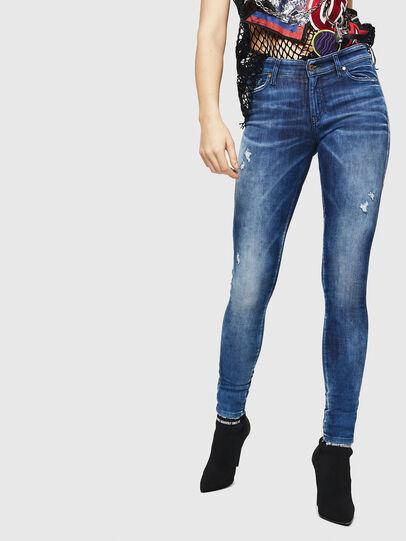 Diesel - Slandy 0090Q, Bleu moyen - Jeans - Image 1