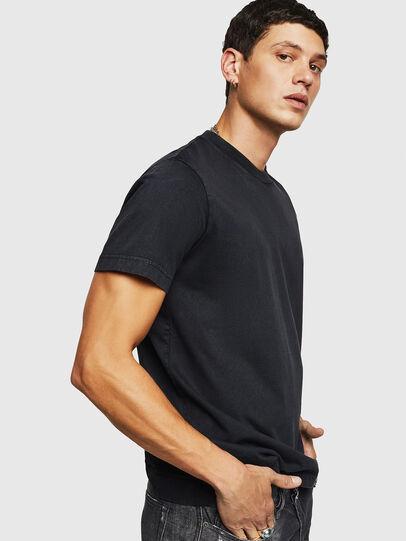 Diesel - T-THURE, Noir - T-Shirts - Image 4