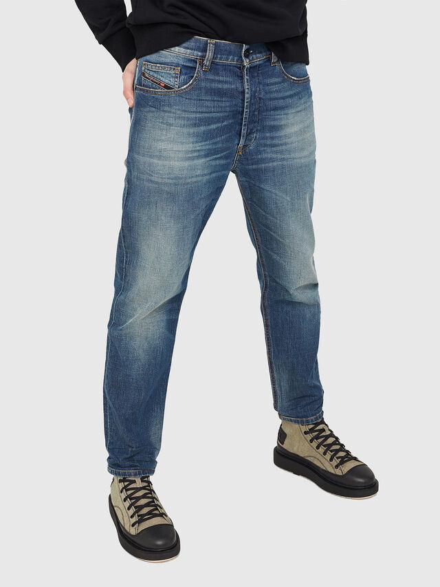Diesel - D-Eetar 089AR, Bleu Foncé - Jeans - Image 1