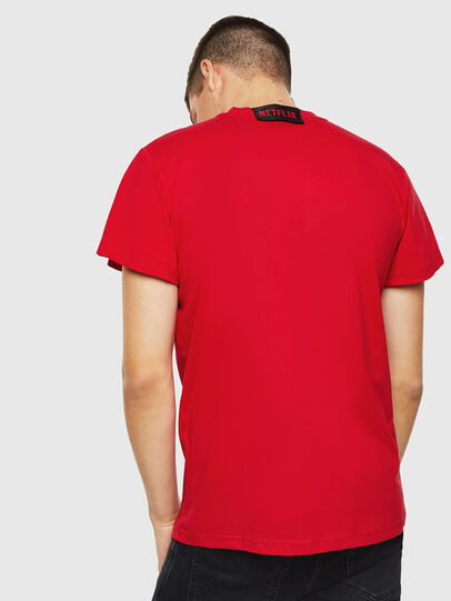 Diesel - LCP-T-DIEGO-RIO, Rouge - T-Shirts - Image 3