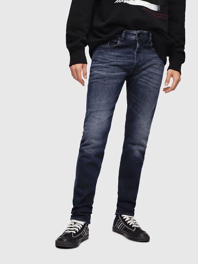Diesel - Buster 087AS, Bleu Foncé - Jeans - Image 1