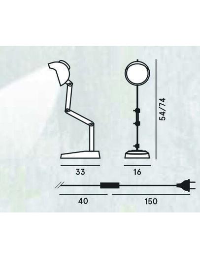 Diesel - DUII TAVOLO,  - Éclairages De Table - Image 2