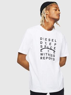 T-JUST-J5, Blanc - T-Shirts