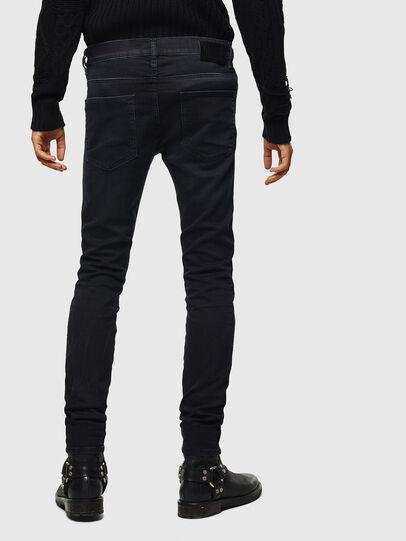 Diesel - D-Reeft JoggJeans 069KJ, Noir/Gris foncé - Jeans - Image 2