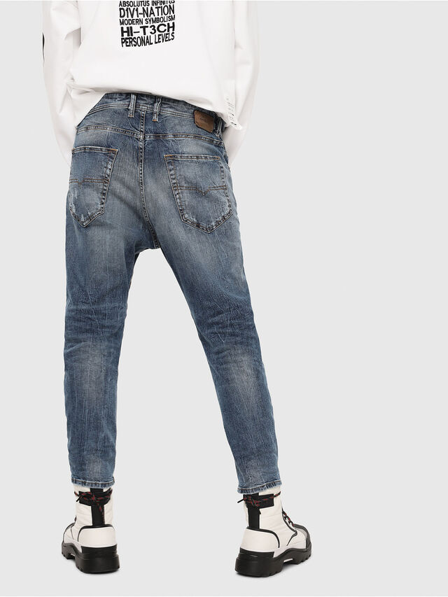 Diesel - Narrot 0090M, Bleu Clair - Jeans - Image 2