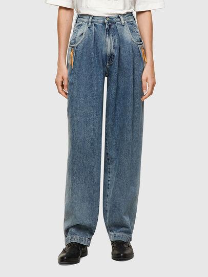 Diesel - DxD-P1 0CBBL, Bleu Clair - Jeans - Image 2