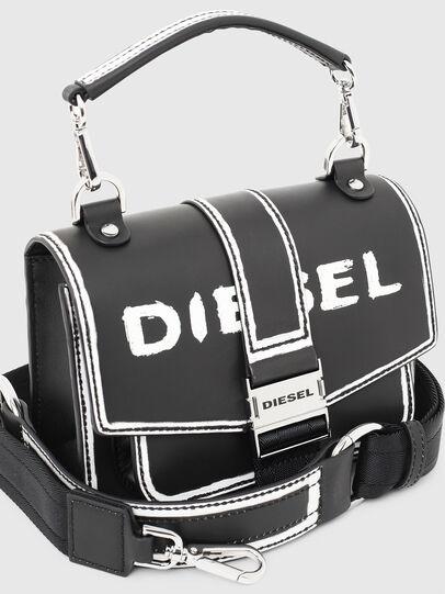 Diesel - MISS-MATCH CROSSBODY, Noir/Blanc - Sacs en bandoulière - Image 4