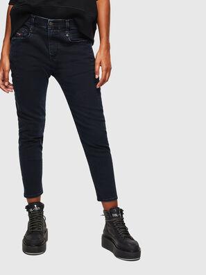 Fayza 069GL, Bleu Foncé - Jeans