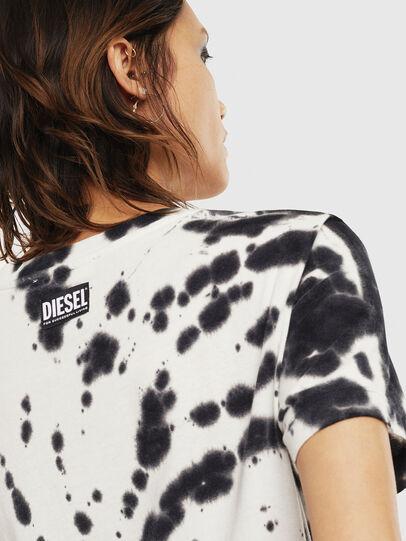 Diesel - T-SILY-S4, Noir/Blanc - T-Shirts - Image 4