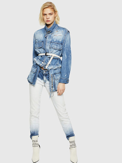 Diesel - D-Rifty 084AR, Bleu Clair - Jeans - Image 5