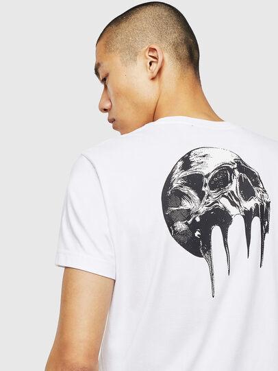 Diesel - T-DIEGO-J10, Blanc - T-Shirts - Image 3