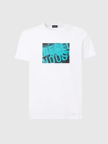T-shirt avec imprimé à logo DieselIndustry