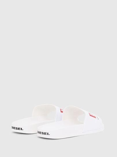 Diesel - SA-VALLA, Blanc - Claquettes - Image 3