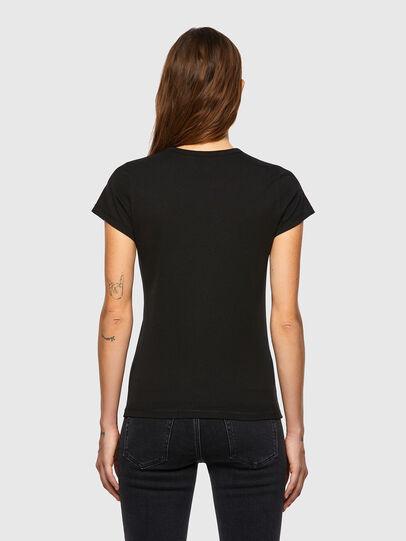 Diesel - T-SLICUP-B1, Noir - T-Shirts - Image 2