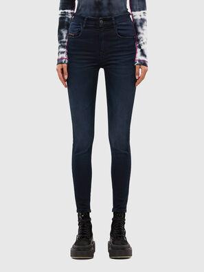 Slandy High 009JG, Bleu Foncé - Jeans