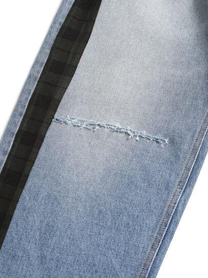 Diesel - D-DEEPCHECKDENIM, Bleu Clair - Pantalons - Image 4