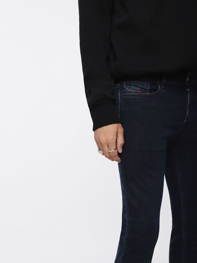 Diesel - Sleenker 084YD, Bleu Foncé - Jeans - Image 3
