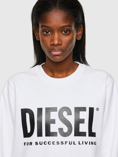Diesel - F-ANGS-ECOLOGO, Noir/Blanc - Pull Cotton - Image 3