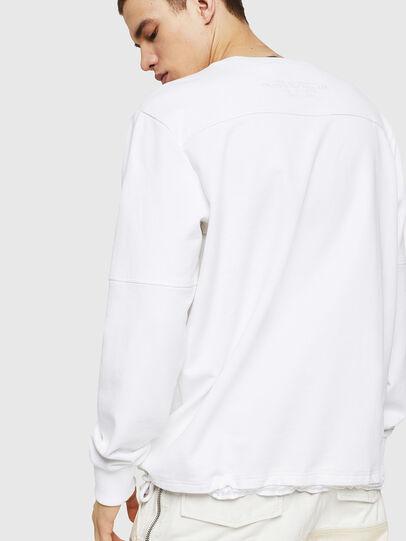 Diesel - S-MENKOV, Blanc - Pull Cotton - Image 2