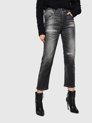 Aryel 0095J, Noir/Gris foncé - Jeans
