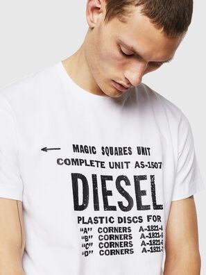 T-DIEGO-B6, Blanc - T-Shirts