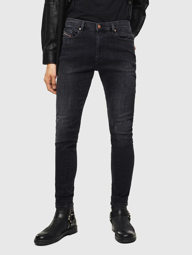 D-Amny 0096P, Noir/Gris foncé - Jeans
