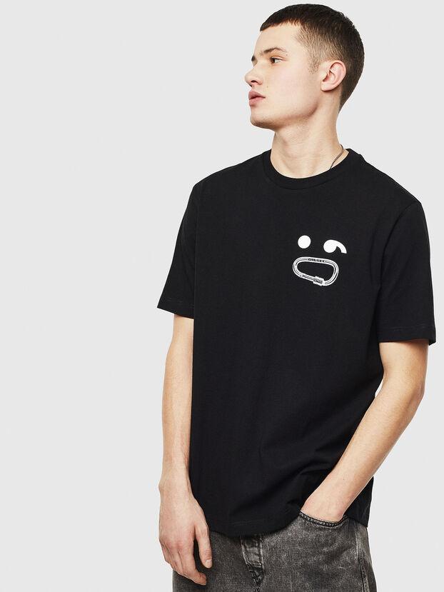 T-JUST-T14, Noir - T-Shirts
