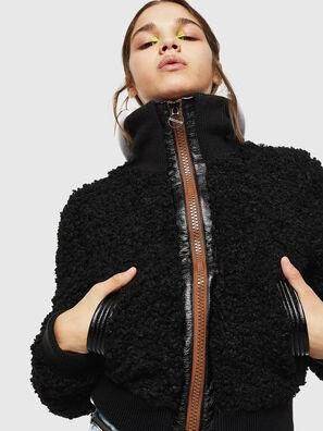 L-TOSHA, Noir - Vestes de cuir