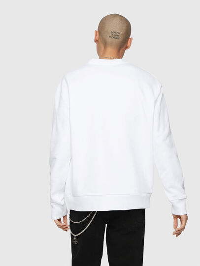 Diesel - S-LINK, Blanc - Pull Cotton - Image 3