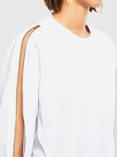 Diesel - F-ROSETTA, Blanc - Pull Cotton - Image 4