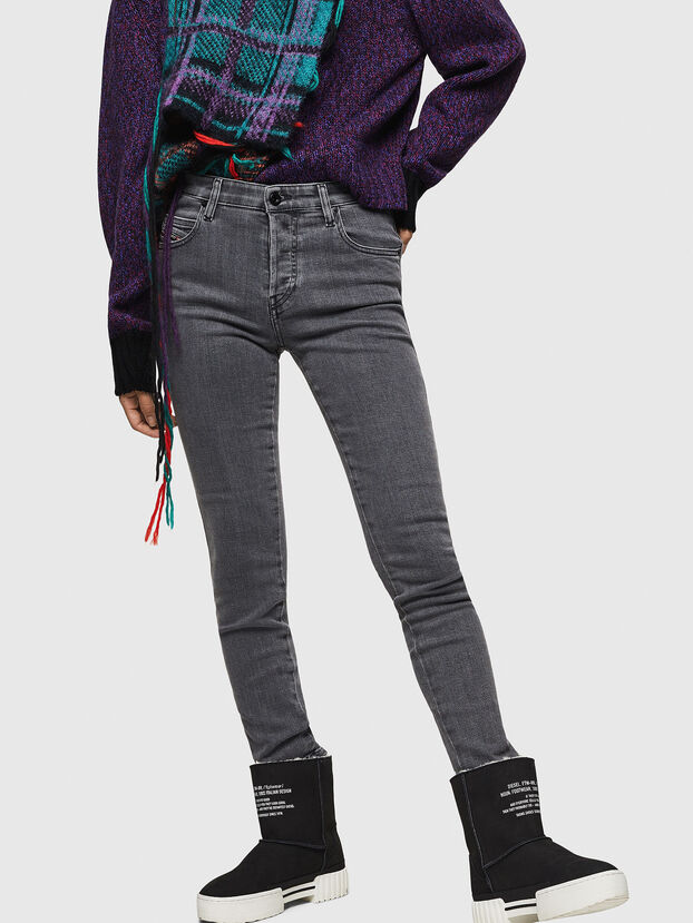 Babhila 0890S, Gris Clair - Jeans