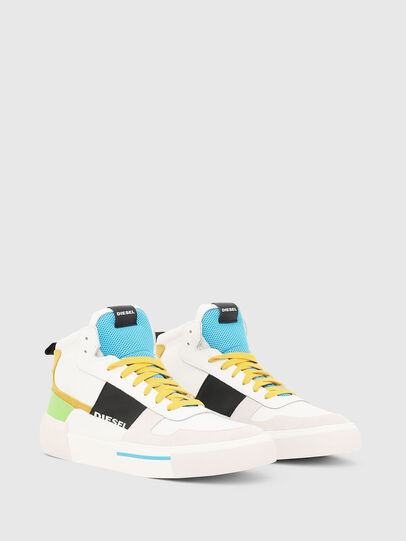 Diesel - S-DESE MG MID, Blanc - Baskets - Image 2