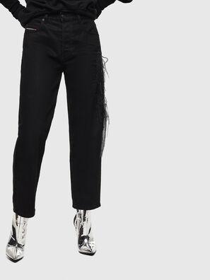 Aryel 0TAXI, Noir/Gris foncé - Jeans