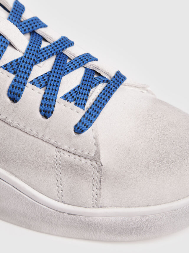 Diesel - S-CLEVER LOW, Blanc - Baskets - Image 4