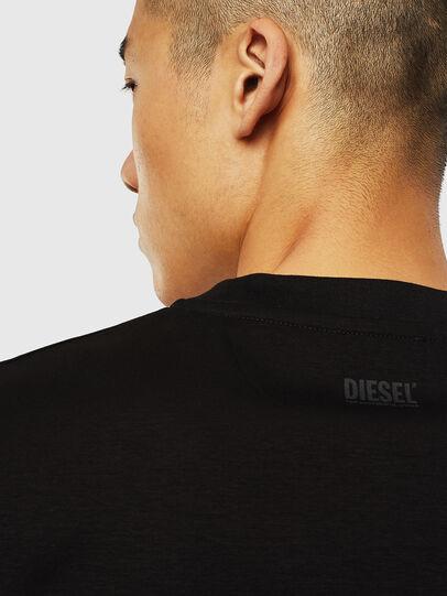 Diesel - T-JUST-J10, Noir - T-Shirts - Image 4