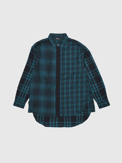 Diesel - CGARZ, Bleu/Noir - Chemises - Image 1