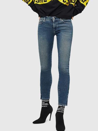 Diesel - Slandy Zip 083AL, Bleu moyen - Jeans - Image 1