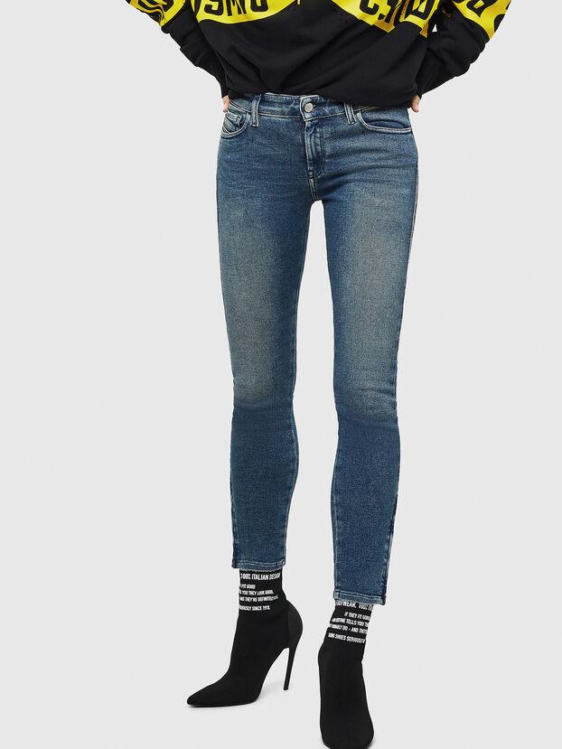 Slandy Zip 083AL, Bleu moyen - Jeans