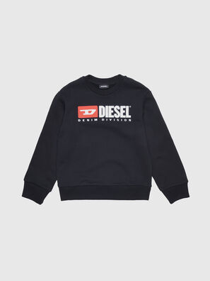SCREWDIVISION OVER, Noir - Pull Cotton
