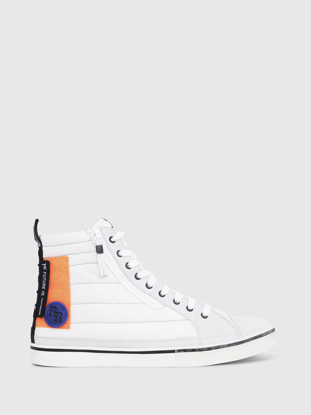 Diesel - D-VELOWS MID PATCH, Polychrome/Blanc - Baskets - Image 1