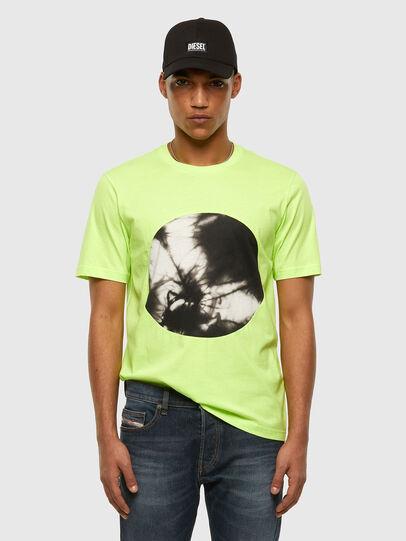 Diesel - T-MOONY-X2, Vert Fluo - T-Shirts - Image 5