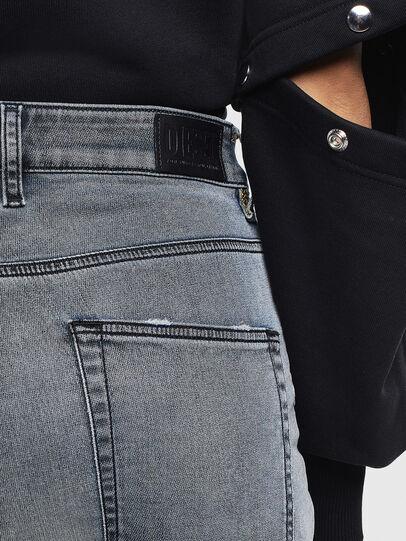 Diesel - D-Eifault JoggJeans 069LT, Bleu Foncé - Jeans - Image 5