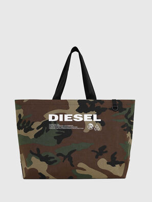 D-THISBAG SHOPPER L, Vert Camouflage - Cabas et Sacs d'Épaule