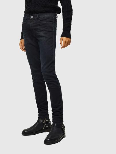 Diesel - D-Reeft JoggJeans 069KJ, Noir/Gris foncé - Jeans - Image 1