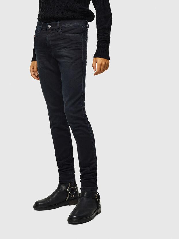 D-Reeft JoggJeans 069KJ, Noir/Gris foncé - Jeans
