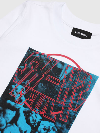 Diesel - TRAVEB-R, Blanc - T-shirts et Hauts - Image 3