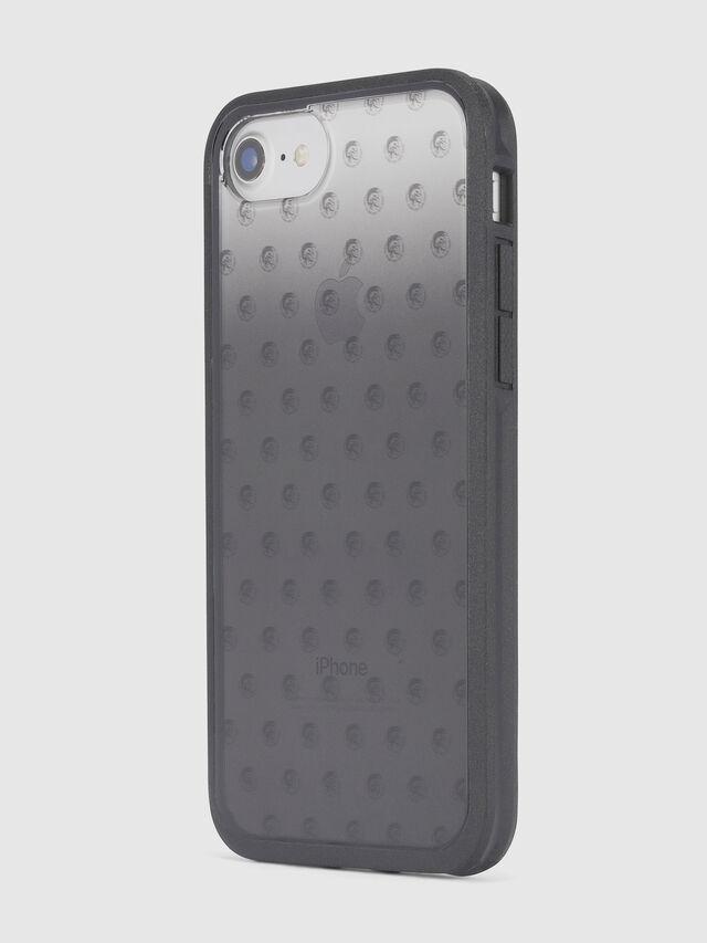 MOHICAN HEAD DOTS BLACK IPHONE 8 PLUS/7 PLUS/6s PLUS/6 PLUS CASE, Noir